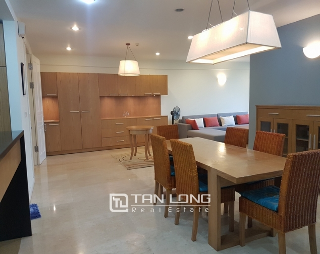 New and modern 3 bedroom apartment for rent in P building, Ciputra 4