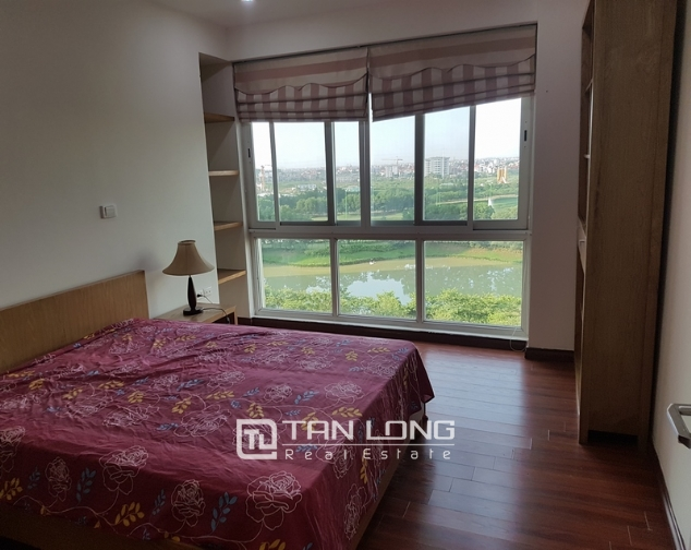 New and modern 3 bedroom apartment for rent in P building, Ciputra 8