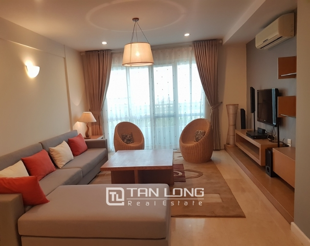 New and modern 3 bedroom apartment for rent in P building, Ciputra 1