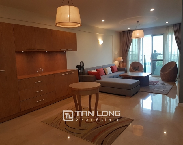 New and modern 3 bedroom apartment for rent in P building, Ciputra 2