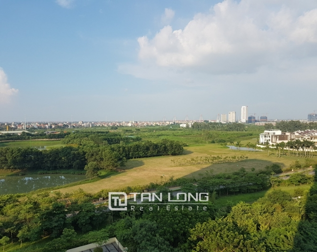 New and modern 3 bedroom apartment for rent in P building, Ciputra 7