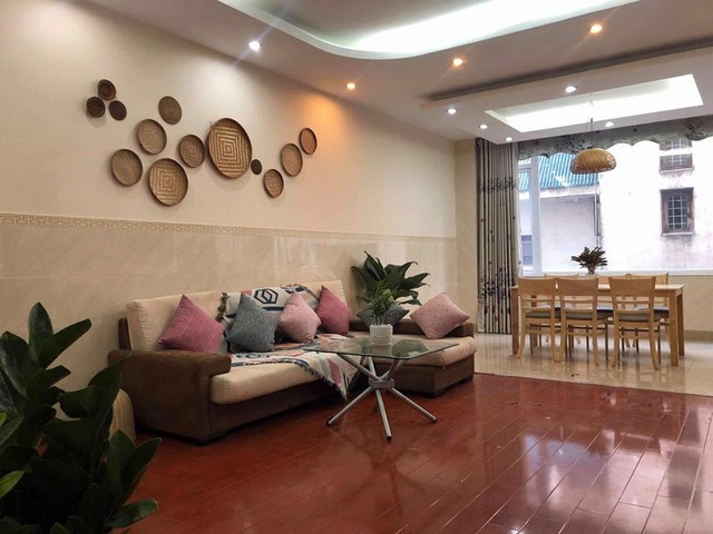 New and spacious 2 bedroom serviced apartment for rent in Au Co street, Tay Ho district