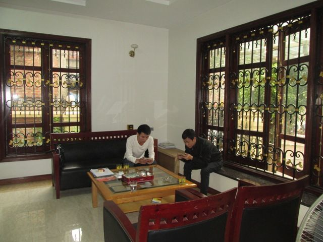 New semi - furnished 4 bedroom villa to rent in My Dinh 1, Nam Tu Liem district, Ha Noi