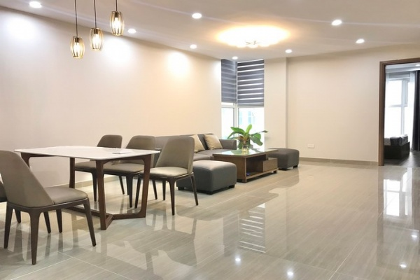 Newly equipped 3 bedroom 114sqm apartment for rent in L345 The Link Ciputra