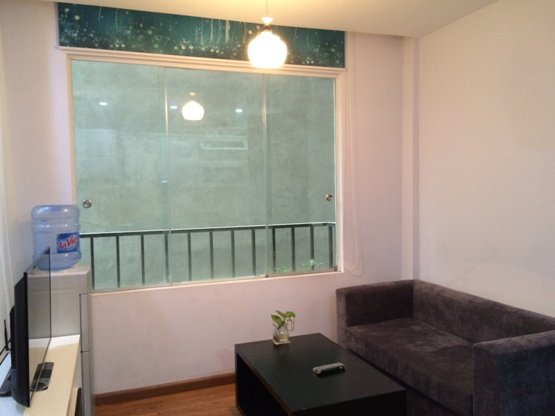 Nice 1 bedroom serviced apartment in Trung Kinh, Cau Giay for lease