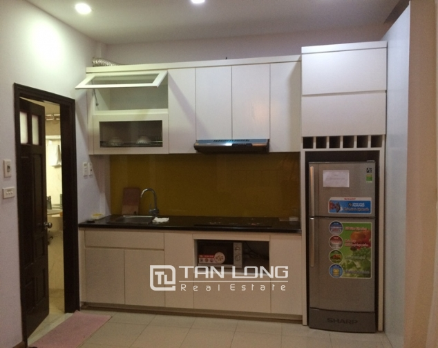Nice 1 bedroom serviced apartment in Trung Kinh, Cau Giay for lease 4