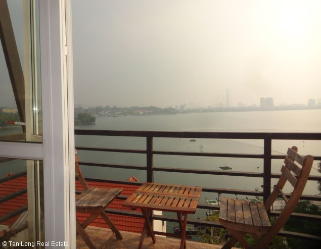 Nice 2 bedroom apartment with Westlake view for rent in Yen Phu, Tay Ho, Hanoi 7