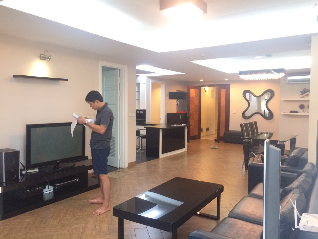 Nice 3 bedroom apartment for rent in E4 Ciputra