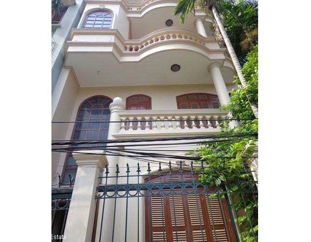 Nice 4 storey house rental in Doi Can, Ba Dinh, Hanoi 1