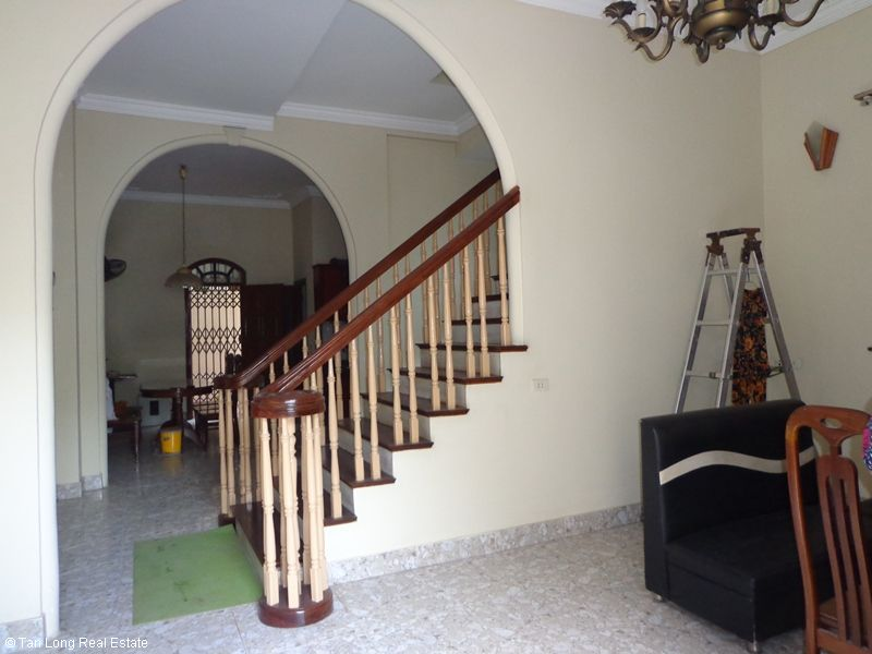Nice 4 storey house rental in Doi Can, Ba Dinh, Hanoi 3