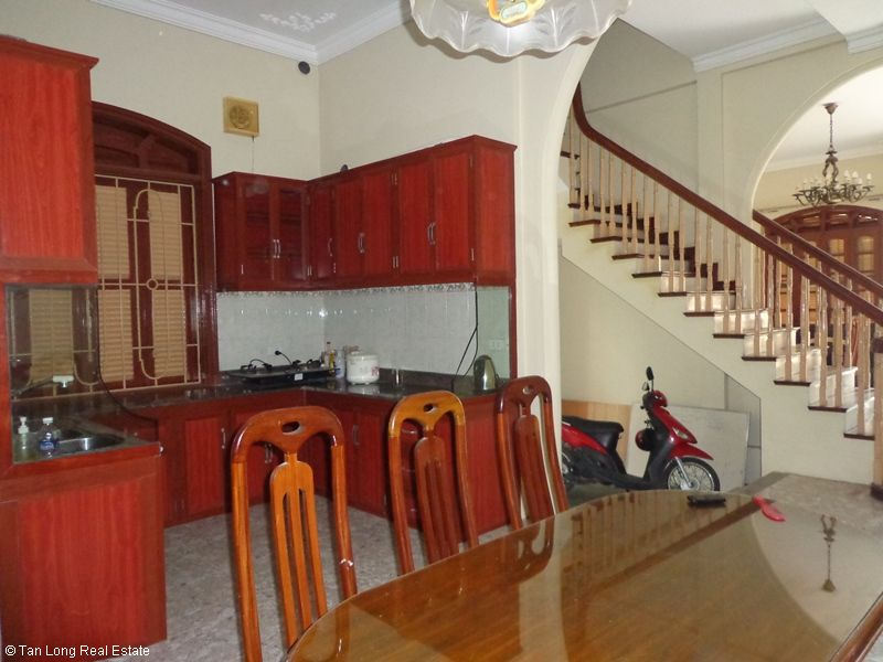 Nice 4 storey house rental in Doi Can, Ba Dinh, Hanoi 6