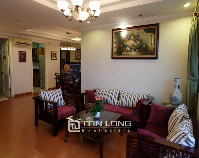 Nice and full furniture 4 bedroom apartment in E5, Ciputra 3