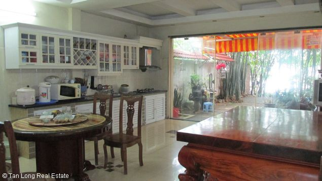 Nice and modern fully furnished house with a beautiful view in Long Bien Dict, Ha Noi. 5