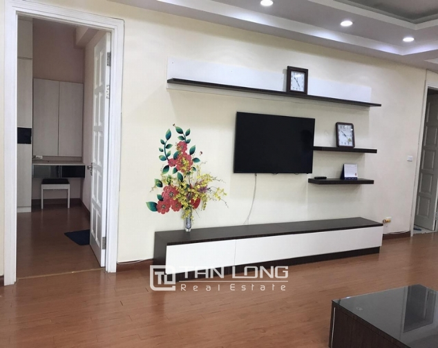 Nice apartment for rent in Ciputra Urban area, Nguyen Hoang Ton Street, Tay Ho, Ha Noi 1