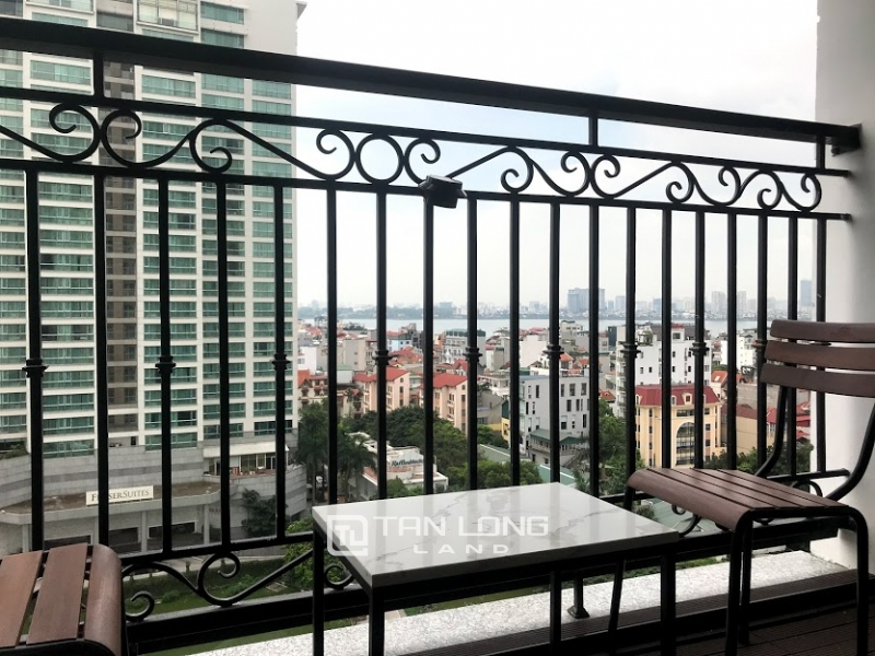 Nice apartment for rent in Dleroisolei on Xuan Dieu street, Tay ho district, Ha Noi 7