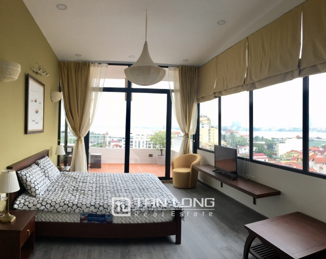 Nice apartment for rent in To Ngoc Van street, Quang An ward, Tay Ho district, Hanoi 2