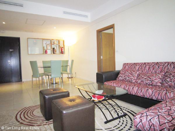 Nice decorated 2 bedroom apartment at central city for lease in Pacific Tower, Ly Thuong Kiet street, Hoan Kiem district, Hanoi. 2