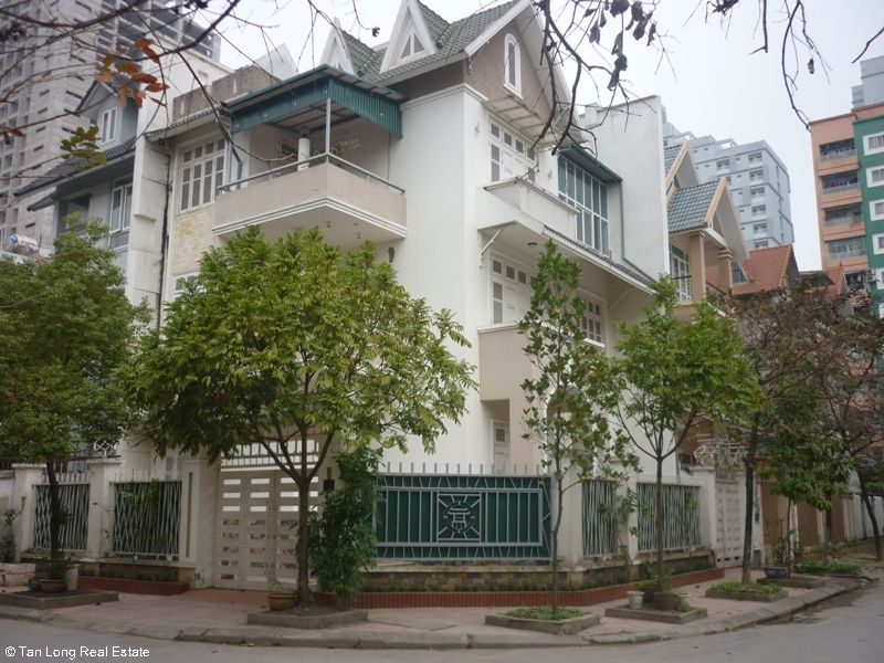 Nice fully furnished villa for rent on Le Duc Tho street, My Dinh 1, Nam Tu Liem district, Ha Noi 1