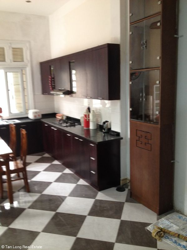 Nice fully furnished villa for rent on Le Duc Tho street, My Dinh 1, Nam Tu Liem district, Ha Noi 4