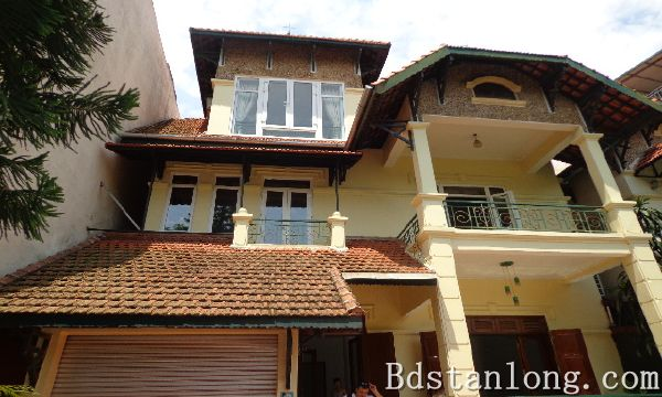 Nice house for lease in To Ngoc Van street, Tay Ho dist, Hanoi