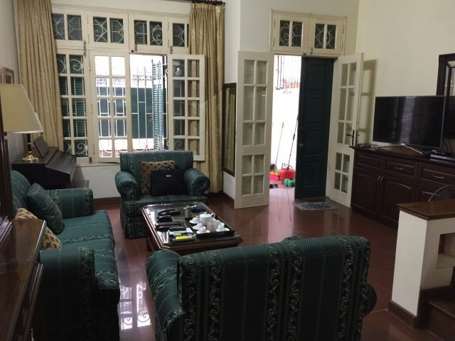 Nice  house in Vong Thi, Tay Ho district, Hanoi for rent