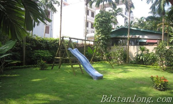 Nice house with big garden for rent in Westlake Hanoi