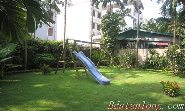 Nice house with big garden for rent in Westlake Hanoi 4