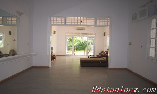 Nice house with big garden for rent in Westlake Hanoi 6