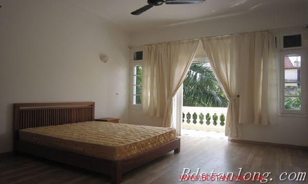 Nice house with big garden for rent in Westlake Hanoi 3