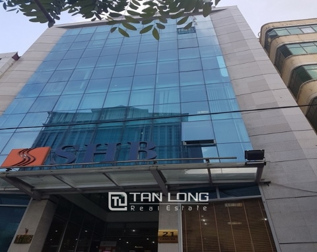 Nice office in Lang Ha street, Dong Da district, Hanoi for rent 1