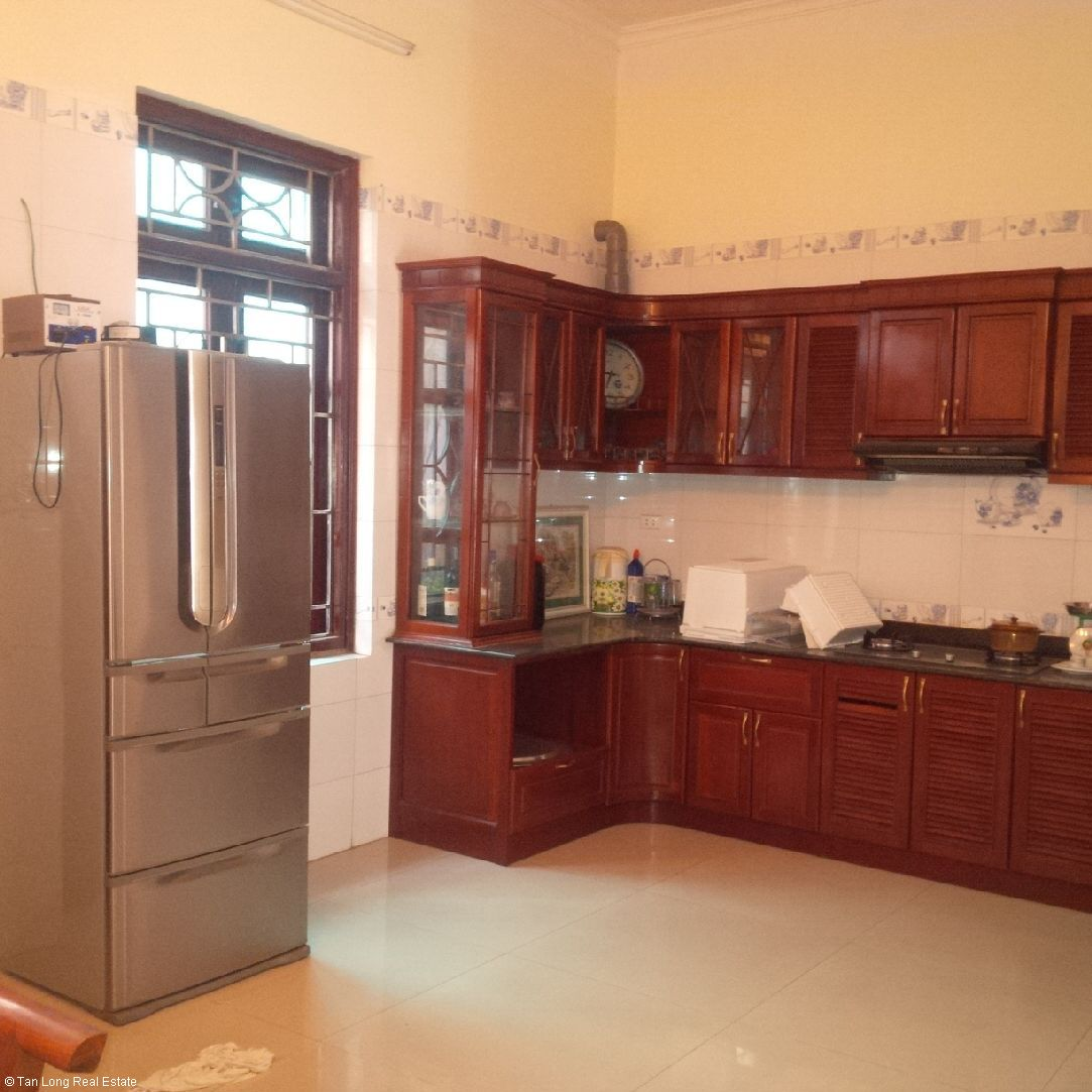 Nice semi furnished house for rent in Sai Dong new urban block 3