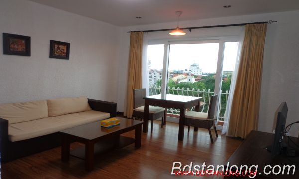 Nice service apartment for lease in Xuan Dieu street. 4