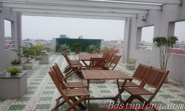 Nice serviced apartment for lease in Ngoc Lam Hanoi 1