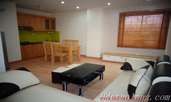 Nice serviced apartment for lease in Ngoc Lam Hanoi 2
