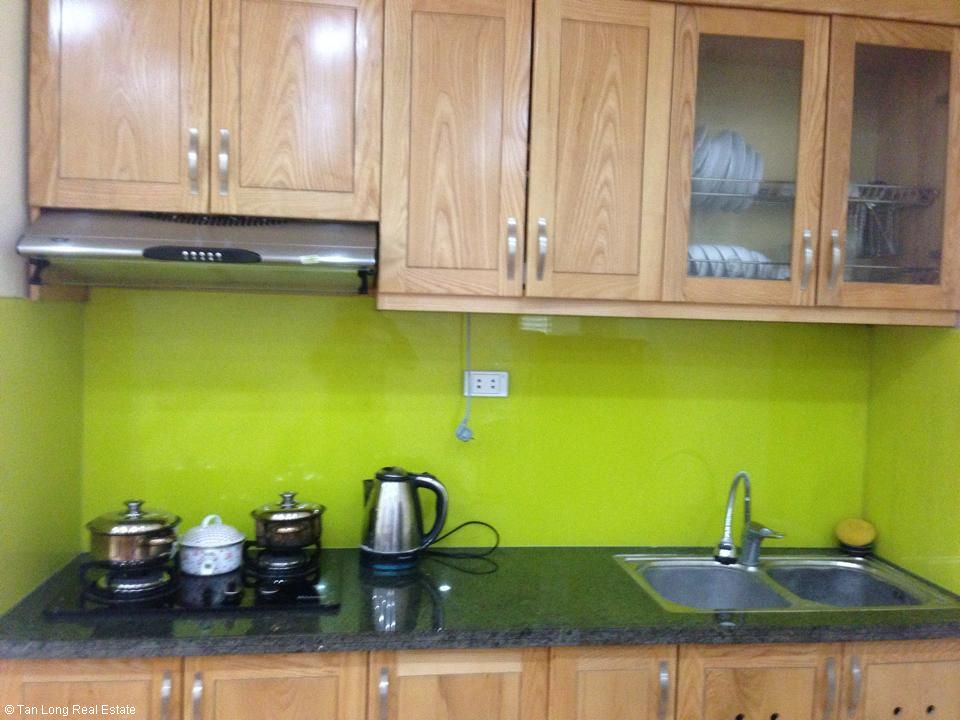 Nice serviced apartment for rent in Ngoc Lam, Long Bien district, Hanoi. 2