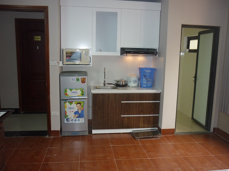 Nice serviced apartment with 1 bedroom for rent in Dinh Thon, Nam Tu Liem district