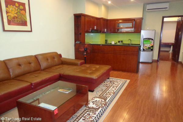 Nice serviced apartment with 2 bedrooms for lease in Cau Dat street 1