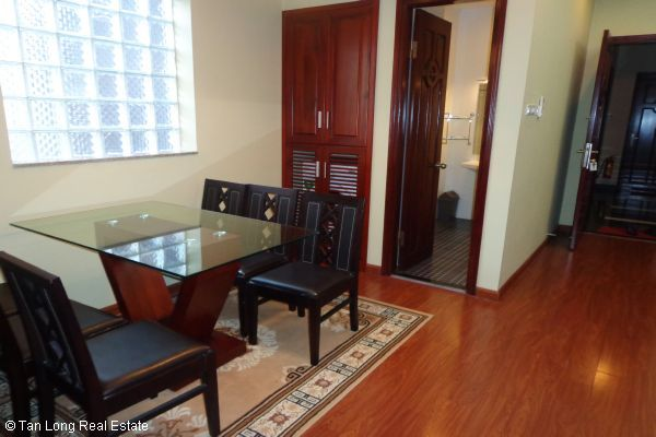 Nice serviced apartment with 2 bedrooms for lease in Cau Dat street 4
