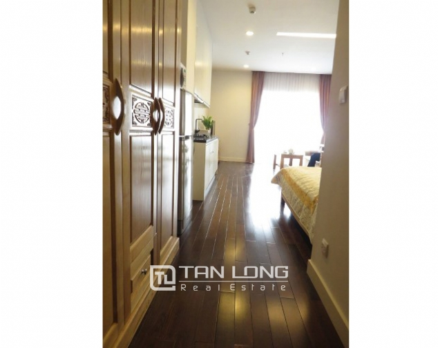 Nice studio apartment for rent in Land Caster, Giang Vo, Ba Đình District 4
