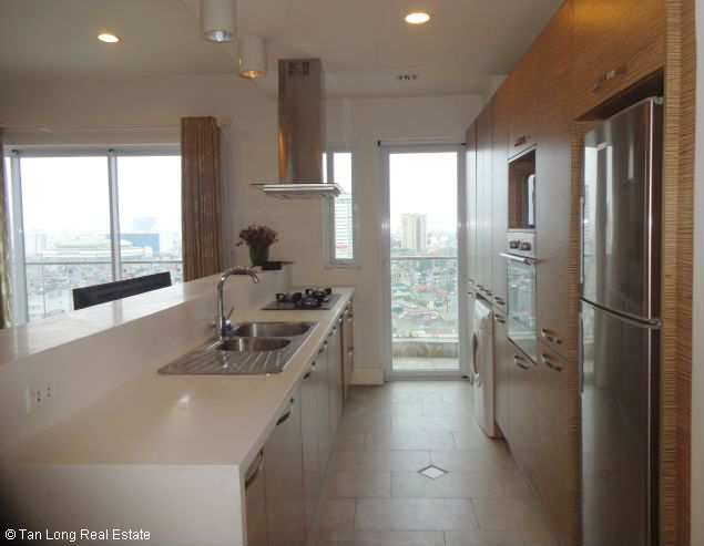 Nice two bedroom apartment for lease in W tower Golden Westlake Hanoi 7