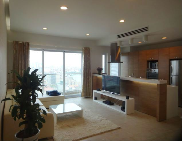 Nice two bedroom apartment for lease in W tower Golden Westlake Hanoi