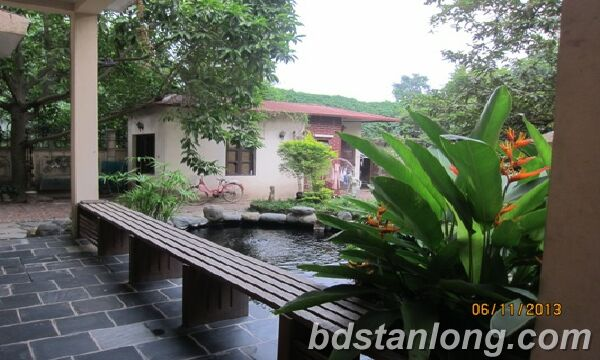 Nice villa for lease in Tay Ho district Hanoi
