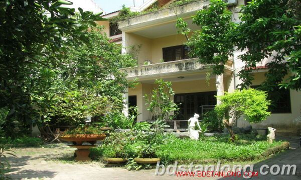 Nice villa for lease in Tay Ho district Hanoi 2