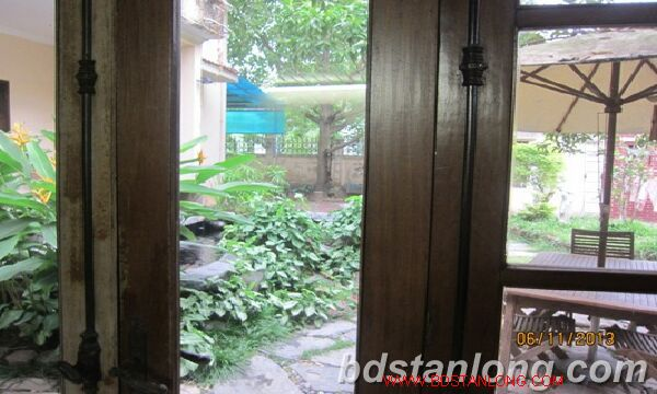 Nice villa for lease in Tay Ho district Hanoi 5