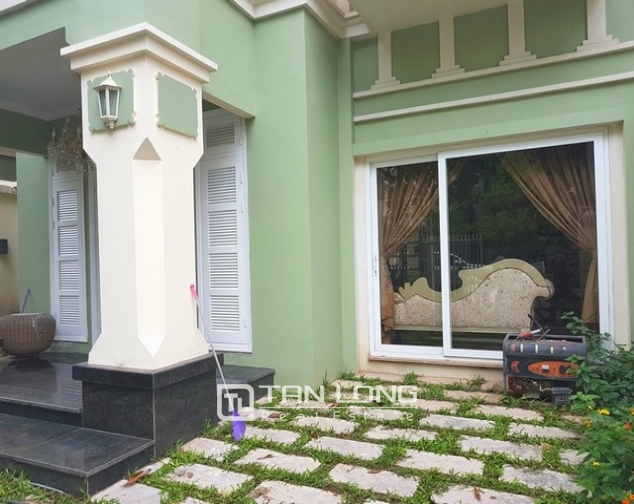 Nice villa for rent in T1 Ciputra, Tay Ho district, Hanoi for rent 2