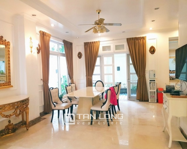 Nice villa for rent in T1 Ciputra, Tay Ho district, Hanoi for rent 4