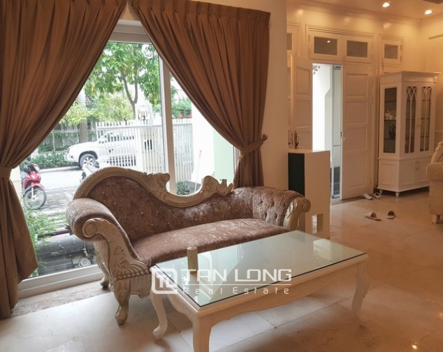 Nice villa for rent in T1 Ciputra, Tay Ho district, Hanoi for rent 5