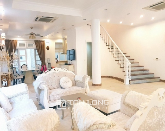 Nice villa for rent in T1 Ciputra, Tay Ho district, Hanoi for rent 8