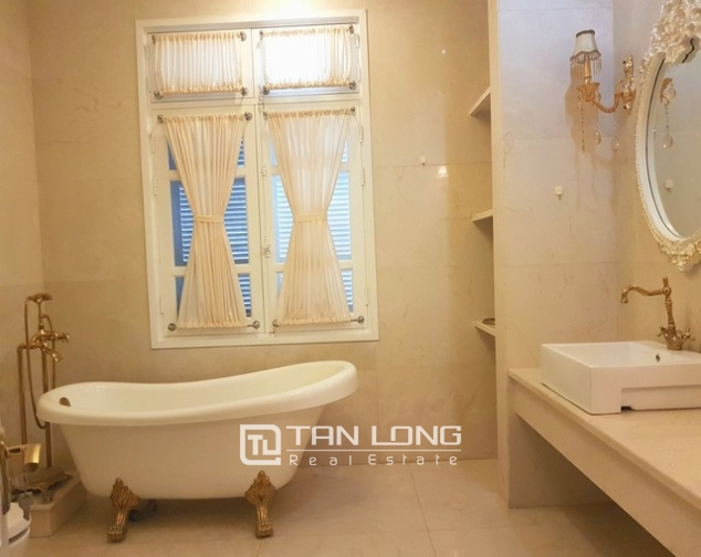 Nice villa for rent in T1 Ciputra, Tay Ho district, Hanoi for rent 7
