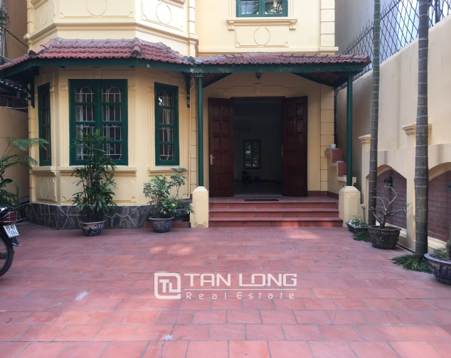 Nice villa for rent in To Ngoc Van street, Tay Ho district for lease 3